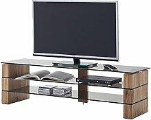 """TV Rack Board Tisch Hifi Lowboard Fernsehtisch Möbel Wohnzimmer Massiv """"Kari I"""