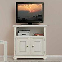 TV Schränkchen in Weiß Italienischer Stil