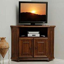 TV Schrank aus Nussbaum Ecke