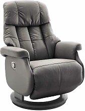 TV Sessel in Schlamm Leder Relaxfunktion