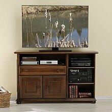 TV-Sideboard aus Nussbaum Antik Italienischer Stil