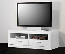 TV-Teil / TV-Tisch / Lowboard / TV-Möbel - weiß