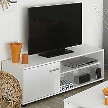 TV Tisch in Weiß günstig kaufen Pharao24