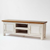 TV-Tisch in Weiß-Honigfarben Vintage