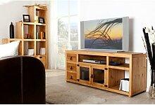 TV-Tisch, Lowboard, TV-Kommode MEXICO, Pinie