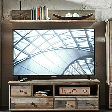 TV-Unterschrank mit Wandregal BRANSON-36 in