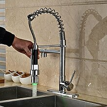 Tw LED Wasserhahn Küche Waschbecken Wasserhahn