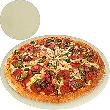 TW24 BBQ Pizzastein Cordierit rund Grillstein