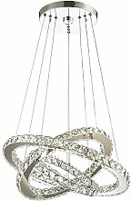 TWGDH Moderne LED-Kristallleuchter-Licht-Lampen