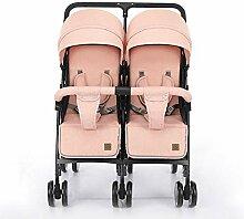 Twin Kinderwagen, Leichte faltbare Dämpfende