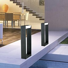 Twin LED Aussen-Stehleuchte 60cm IP54 10W, 600lm ,