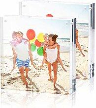 TWING Premium Acryl-Bilderrahmen, Magnet, 10,2 x