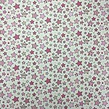 Twinkle Lippenstift Pink 100% Lifestyle Baumwolle Print Woodlands Collection Jungen/Mädchen Kinderzimmer Vorhänge Kids/Kinder, Wimpelkette, Designer Bettwaren, Kissen, Polstermöbel Schlafzimmer Vorhänge Stoff 137,2cm breit–von der halben Meter