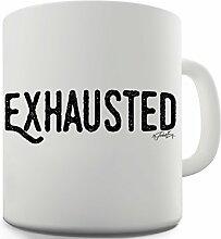 Twisted Envy erschöpft Keramik Tasse