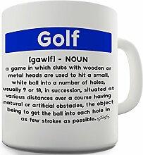 Twisted Envy Golf Definition Keramik Funny Tasse