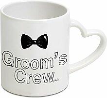 Twisted Envy Groom Crew Schleife Herz Griff