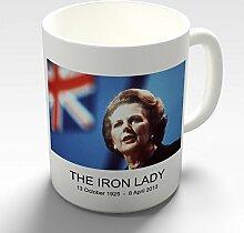 Twisted Envy Margaret Thatcher Eisen Lady Prime Keramik Tasse