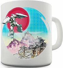 Twisted Envy Mecha Roboter Japan Keramik Neuheit Tasse