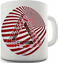 Twisted Envy Optische Illusion Keramik Neuheit Tasse
