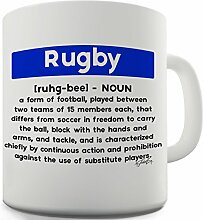 Twisted Envy Rugby Definition Keramik Tasse