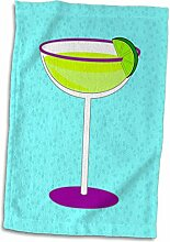 TWL_57115_1 3D-Rose Margarita in Glas mit