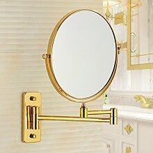 Two-sided vergrößerten Spiegel/rotierenden