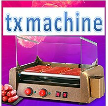 TX® Commercial Hot Dog Hotdog Grill sausage Grill