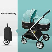 TXTC Kinderwagen for Neugeborene Und Kleinkind,