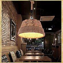 TXX Hanfseil Lampe Kronleuchter Amerikanischen