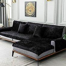 TY&WJ Plüsch Anti-rutsch Sofabezug Wohnzimmer
