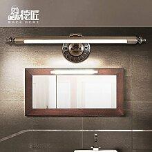 TYDXSD Amerikanische Spiegel Lampe Bad Badezimmer Spiegel Schrank-Stil LED wasserdicht Schminktisch Spiegel Lampe Nebel 580/660 mm * 150 mm , Large