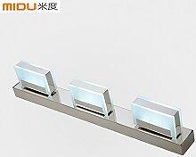 TYDXSD Led Spiegel Lampe Modernes Minimalistisches Bad Badezimmer Spiegel Beleuchtung Spiegel Lampe Lampe Eitelkeit Spiegel Wandleuchten 500 * 50 * 95 Mm