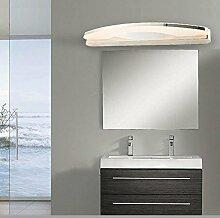 TYDXSD Moderne minimalistische LED Spiegel Leuchten Edelstahl Acryl Badezimmer Lampe Bad Spiegel Licht Schrankwand Lampe Licht 360/540 * 50 * 110 mm , 360mm