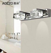 TYDXSD Moderne minimalistische led-Spiegel-Scheinwerfer Crystal Lampen Lampe Badezimmer Wohnzimmer Lichter leuchten 300 * 55mm