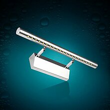 TYDXSD Moderne minimalistische wasserdichte gischt Rost LED Spiegel Lichter Spiegel Lichter Bad Badezimmer Spiegel Badezimmer Schrank Licht , 15w white 106cm