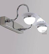 TYDXSD Spiegel Lampe moderne High-Power LED wasserdichte Badezimmer Spiegel Schrank Licht Edelstahl Beleuchtung Lampen 300 * 120 * 200 mm