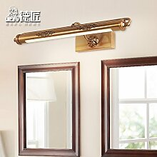 TYDXSD Spiegel Leuchten Badezimmer Bathroom Cabinet Jahrgang führte Spiegel Beleuchtung Lampe wasserdicht und Nebel Feuchtigkeit 600 * 230mm