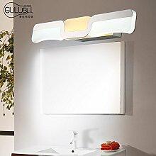 TYDXSD Spiegel-Lichter führte Badezimmer Beleuchtung minimalistische moderne minimalistische Badezimmer Wand Spiegel Schrank Make-up Spiegel Lichter 465mm / 530mm , 9w