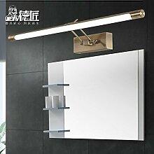 TYDXSD Wasserdichte Anti-fogging Badezimmer Spiegel Lampe led American minimalistischen Europäische Badezimmer Spiegel Lichter Spiegel Lichter führte Schrank Licht , Small