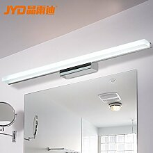TYDXSD Wasserdichte Nebel gegen Verband Spiegel LED-Leuchte modern minimalistischen Schminktisch Spiegel Schrank helles Tageslicht-Bad Badezimmer Spiegel Lichter , 800mm
