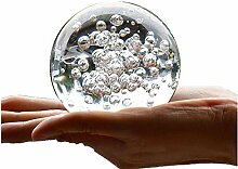 TYGJB Kristall Marmor Wasser Brunnen Bubble Ball