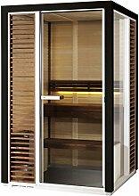 Tylö Impression Sauna 172,5 x 132,5 cm i1713s inkl. Tylö Compact Saunaofen