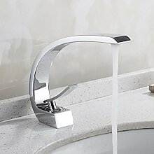TYOLOMZ Einlochmontage Waschbecken Wasserhahn