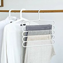 TYOLOMZ Hosen-Kleiderbügel, multifunktional,