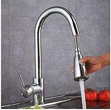 TYOLOMZ Küchenwaschbecken Wasserhahn Messing Pull