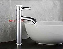 TYOLOMZ Messing Waschbecken Wasserhahn Einhandkran