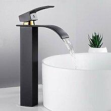 TYOLOMZ Wasserfall Waschbecken Wasserhahn Deck