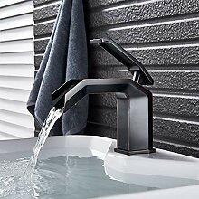 TYOLOMZ Wasserfall Waschtischarmaturen Nickel