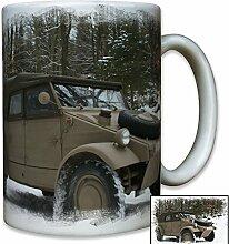 Typ 82 Kübelwagen Geländewagen WK 2 Ostfront Oldtimer Militär Foto - Tasse Becher Kaffee #9143