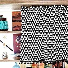 TYP Mall Kaffee Vorhang Baumwolle Leinen